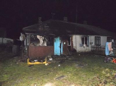 На Рівненщині під час пожежі загинули двоє дітей