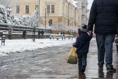 Синоптики повідомили, коли у Чернівцях випаде мокрий сніг