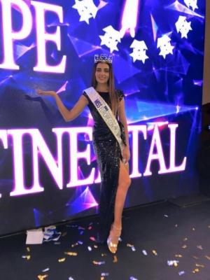 27-річна українка стала переможницею конкурсу Miss Europe Continental-2017