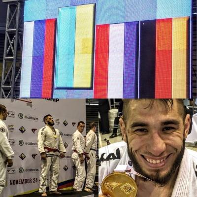 """Українці здобули """"золото"""" та """"срібло"""" на чемпіоном світу з джиу-джитсу"""