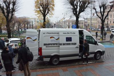 ЄС передав Чернівцям спецмашину для виявлення витоків і незаконних підключень у водомережі