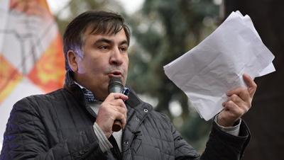 Саакашвілі заявив, що Порошенко наказав його арештувати