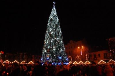 Для Чернівців на новорічні свята знайшли 20-метрову ялинку