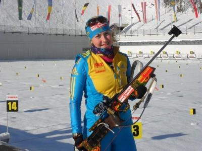 """Юлія Джима виборола """"бронзу"""" на етапі Кубка світу з біатлону"""