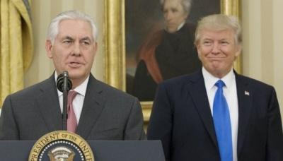 Трамп спростував інформацію про відставку Тіллерсона