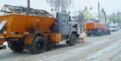 Оприлюднено перелік вулиць Садгори, які підсипатимуть взимку