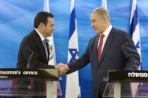 Гватемала оголосила про переведення посольства в Ізраїлі в Єрусалим