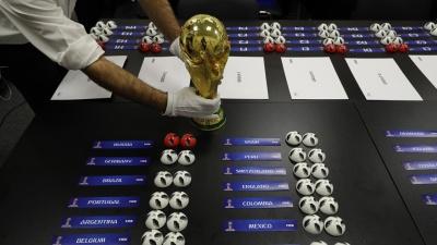 Чемпіонат світу з футболу-2018: Результати жеребкування