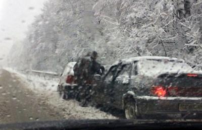 Два ДТП с участием шести автомобилей произошли на Сторожинеччине (ФОТО)