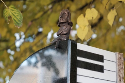 У Чернівцях знову поламався пам'ятник Лісту