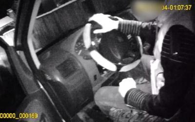 У Чернівцях поліція оприлюднила відео нічної погоні за п'яним водієм