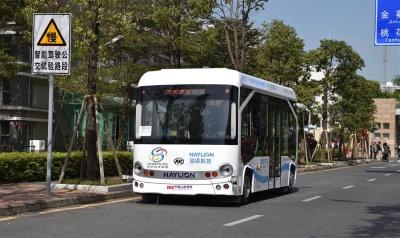 У Китаї почали ходити безпілотні автобуси