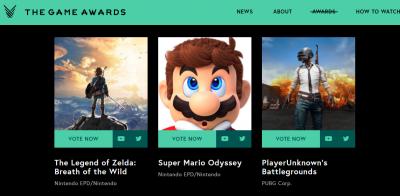 У Лос-Анджелесі вручили премії за найкращі ком'ютерні ігри року
