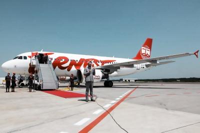 Італійський лоукостер почав літати зі Львова до Неаполя та Венеції