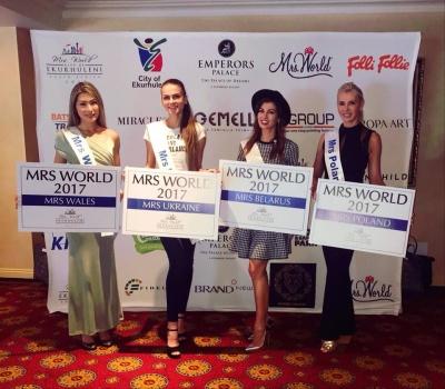Модель із Чернівців показала, як у ПАР готується до конкурсу «Місіс світу»