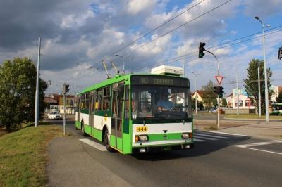 Чернівці придбали два вживаних тролейбуси