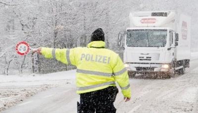 Німеччина потерпає від сильних снігопадів