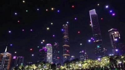 У Китаї понад тисяча дронів створили світлове шоу: вражаюче відео