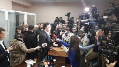 Суд відмовив прокуратурі в арешті Саакашвілі
