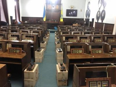 У Чернівецькій міськраді замінюють систему голосування депутатів