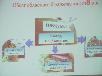 Бюджет Буковини зросте, але своїх доходів – лише 8%
