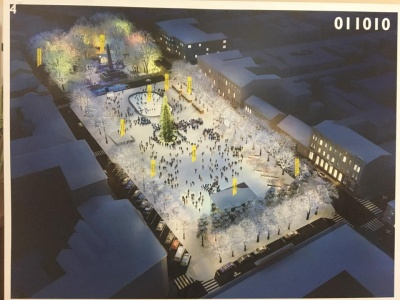Як може виглядати Соборна площа: у мерії Чернівців презентували проекти архітекторів (ФОТО)