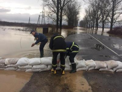 Паводок у Закарпатті підтопив півтори тисячі гектарів