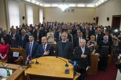 Черновицкий облсовет со второй попытки принял бюджет на 2018