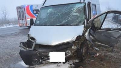 У Словаччині мікроавтобус з українцями потрапив у ДТП