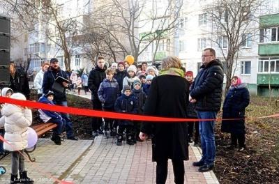 У Чернівцях на бульварі Героїв Крут відкрили вело-роликову доріжку