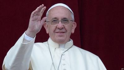 Папа Римський у різдвяному посланні попросив миру для України