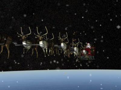 У різдвяну ніч Санта Клаус роздав більше 7 мільярдів подарунків дітям