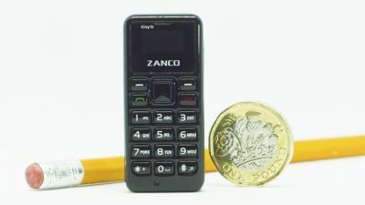 Британський стартап презентував найменший у світі мобільний телефон