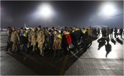 Серед звільнених з полону українців більшість – цивільні