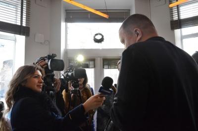 У Чернівцях Юрій Андрухович презентував роман «Коханці юстиції», який він писав 27 років
