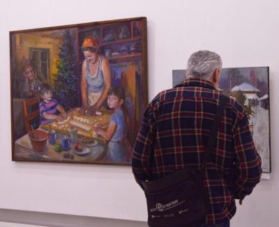«Бракує нової мистецької крові»: у Чернівцях під час виставки підбили художні підсумки року