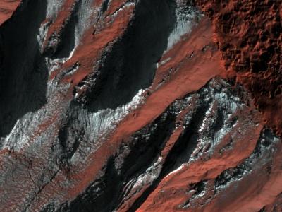 NASA опублікувало знімки зимового Марса