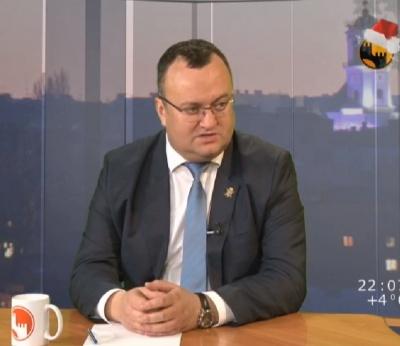 Каспрук назвав дві найзнаковіші події Чернівців у 2017-му році