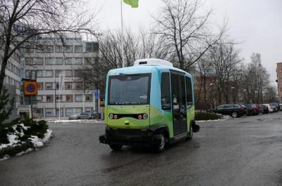У столиці Швеції вперше запустили безпілотні автобуси