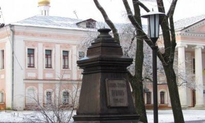 У Чернігові невідомі викрали бюст Пушкіна