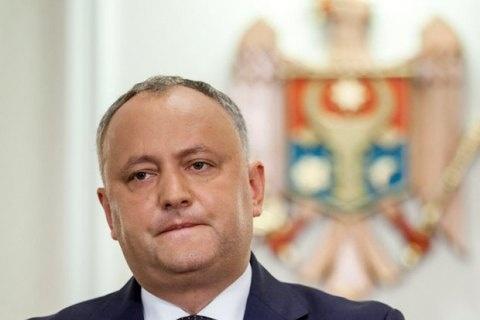 Все через Росію: президента Молдови знову зняли зпосади