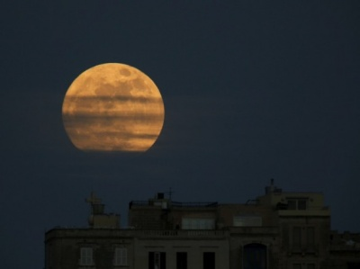 У ніч з 1 на 2 січня на небі був супермісяць
