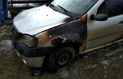 На Буковині підпалили авто заступника мера