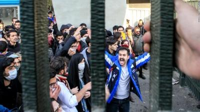 В Ірані кількість загиблих під час протестів збільшилася до 20 осіб
