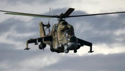 У Сирії розбився російський військовий гелікоптер Мі-24