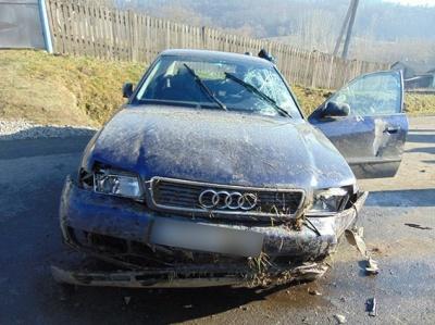 У Чернівецькій області «Ауді» збило пенсіонера: двоє постраждалих (ФОТО)