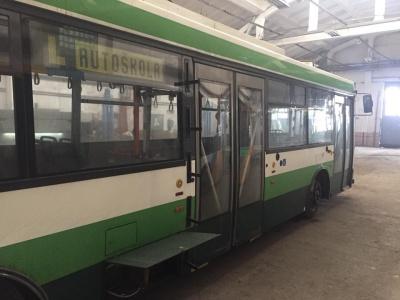 До Чернівців доставили ще три «вживані» тролейбуси Skoda