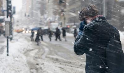 Сніговий шторм у США: температура до -40, вже 16 людей загинули