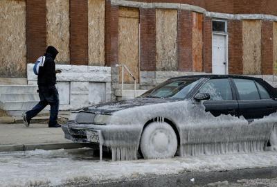 Сполучені Штати потерпають від аномальних морозів