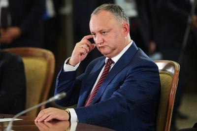 У Молдові президенту загрожує кримальна відповідальність